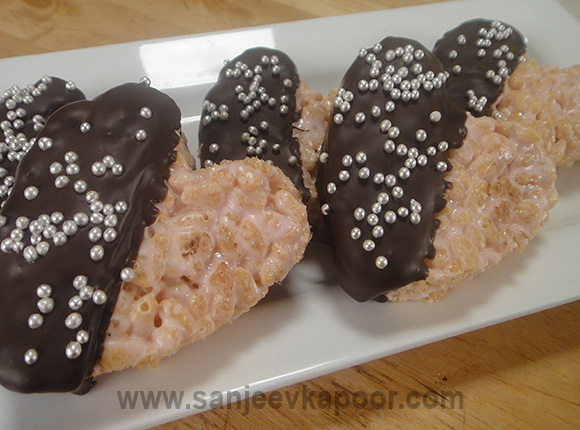 Sweet Crunchy Hearts