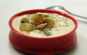 Sweet Potato and Sago Kheer