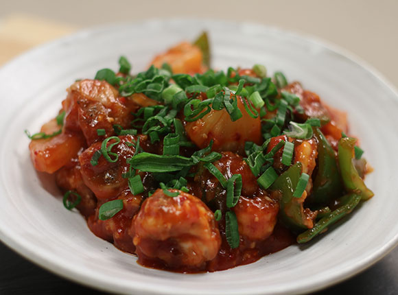 Sweet and Sour Prawns - SKK