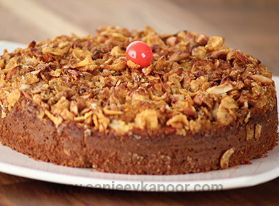 Sweet Corn Crunch Cake