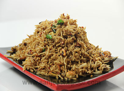 Tamarind and Mustard Rice