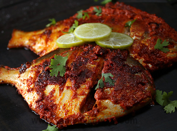How To Make Tawa Pomfret Recipe By