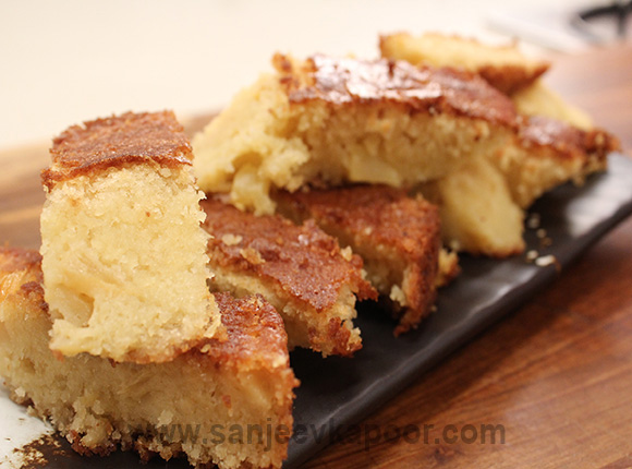 Tea Time Pineapple Cake