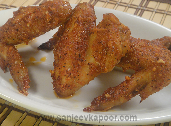 Tex Mex Chicken Wings