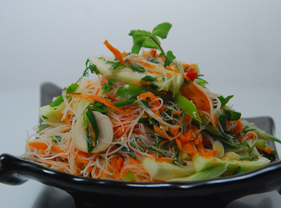 Thai Style Noodle Salad-Cook Smart