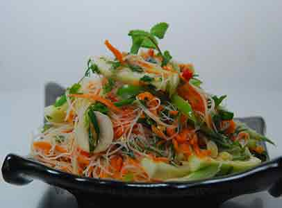 How to make thai style noodle salad recipe by masterchef sanjeev kapoor thai style noodle salad forumfinder Gallery