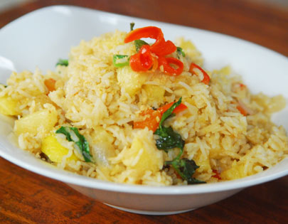 Thai Fried Rice with Pineapple