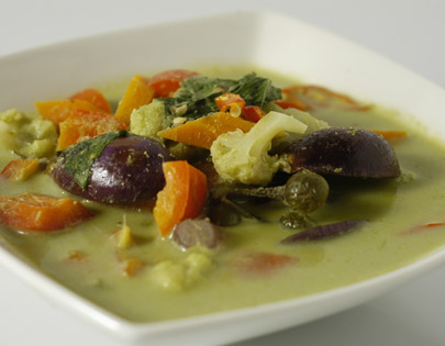 Thai Green Curry At Home