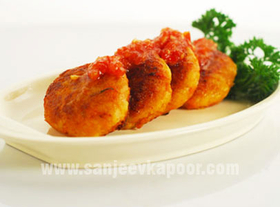 Thai Vegetable Cakes With Chilli Jam