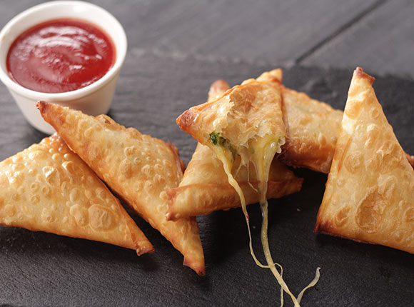 Three Cheese Samosa-SK Khazana