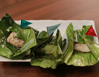 Three Style Fish Parcels