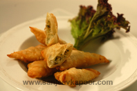 Three Cheese Samosa