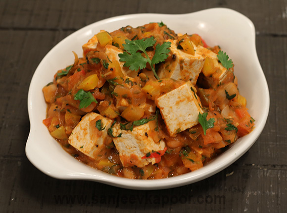 Tofu and White Beans Chilli