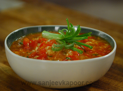 how to cook tomato soup noodle