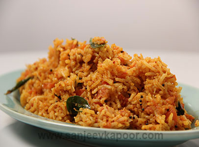 How to make tomato rice recipe by masterchef sanjeev kapoor forumfinder Images