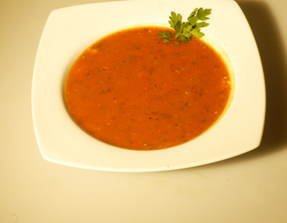 Tomato And Cilantro Soup