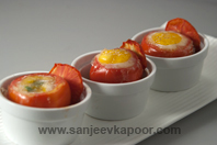 Tomato Egg Cup
