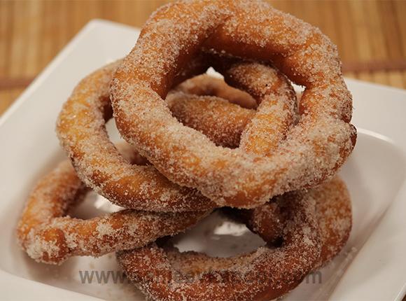 Twisted Cinnamon Donuts