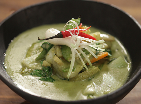 Vegetable Thai Green Curry - SK Khazana