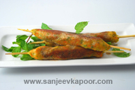 Vegetable Nizami Seekh