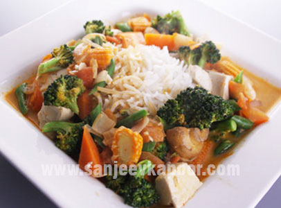 how to cook chinese vegetables curry