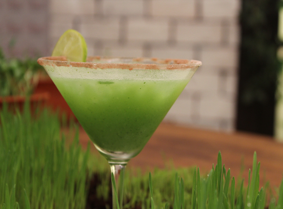 WHEAT GRASS PUNCH - skk