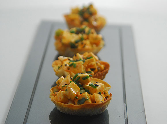 Wonton Cups-Cook Smart