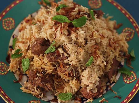 Yakhni Pulao - Cook Smart