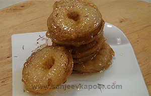 Apple Jalebi (Apple Fritters)