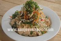 Asian Glass Noodle and Chicken Salad