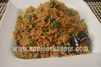 Assorted Vegetable Rice
