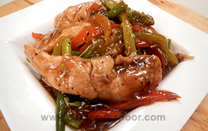 Brandy Spiked Chicken