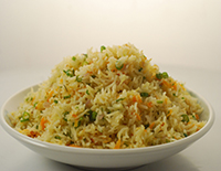 Butter Garlic Vegetable Fried Rice - Cook Smart