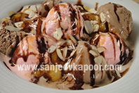 Caramelized Banana Sundae
