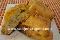 Cheesy Bread Pakora