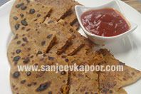 Chicken Keema Parantha