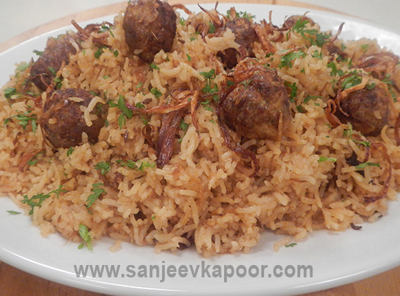Chicken Meatball Pulav