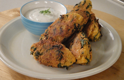 Chickpeas and Spinach Kofta