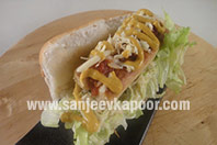 Chilli Cheese Hot Dog