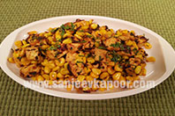 Corn and Paneer ki Sabzi