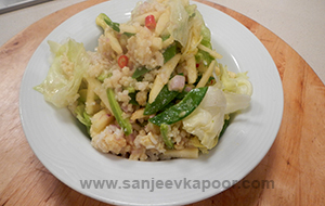 Crabmeat and Apple Salad