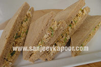 Curried Chicken Tea Sandwich