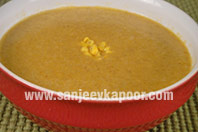 Curried Spiced Sweetcorn Soup