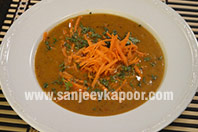 Dal and Carrot Soup
