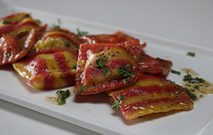 Double Layered Ravioli