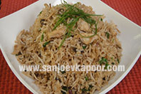 Five Spice Rice with Chicken