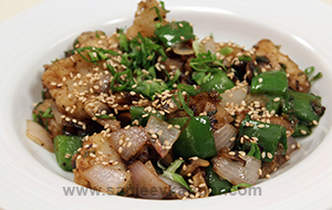 Fried Fish in Black Bean Sauce