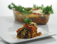 Green Moong Moussaka-Cook Smart