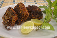 Grilled Fish with Flax Seed Chutney
