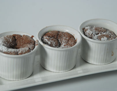 Hot Chocolate Christmas Souffle